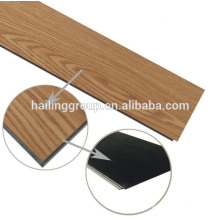 Luxury vinyl click flooring pvc flooring plank wood grain
