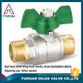 TMOK 1/2'' brass ball valve with strainer Y pattern ball valve bronze ball valve with filter