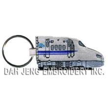 Embroidered Key Chains - New Tokkaido Line