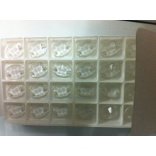 Transparent Oval Flat Back Beads Stones