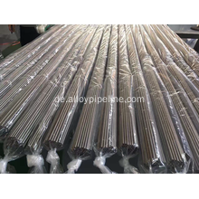 Nickel Alloy Tube Alloy 600 N06600 Blankgeglüht