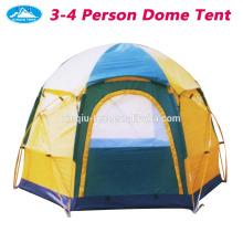 Portable 3-4 person dome tent