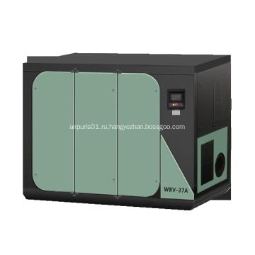 Безмасляный двухвинтовой воздушный компрессор WBV-37A