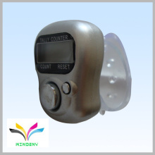 Anillo de regalo Digital Blue Muslin dedo 6 dígitos lcd display counter