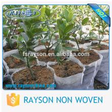 10 ~ 80g Biodégradable Tissu Fleur Plante Cache-pot