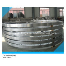 Forged Turbine Wind Power Carbon Steel Flanges