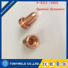 10 / peças tocha de plasma 9-8212 100A ponta de soldagem da dinâmica térmica