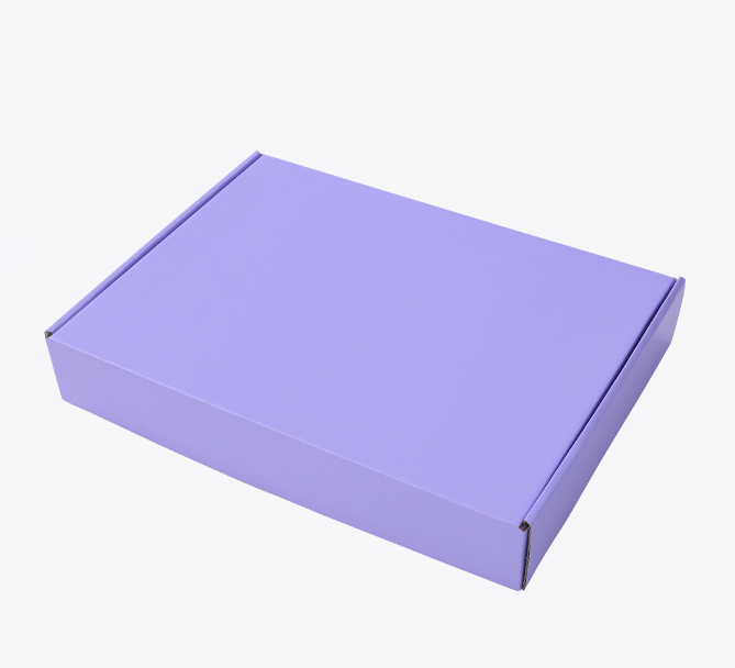Printed carton box for shipping