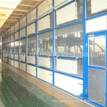 Equipamento de revestimento de eletroforese de melhor qualidade com água recuperando a cabine de pintura