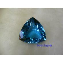 Swiss Blue Topaz Big taille pierres 20ct un morceau