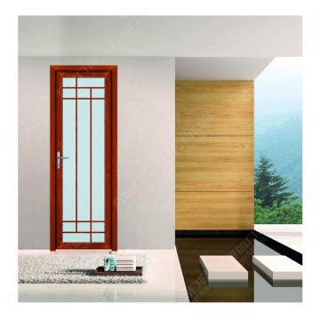 Más barato Respetuoso del medio ambiente Personalizar Rotura térmica Aluminio Baño Puerta de vidrio Diseño