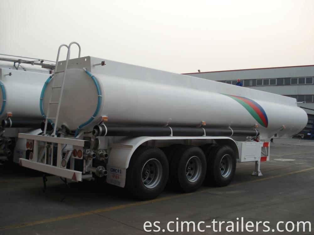 Rr Road Tank Semi Trailer For Transporting Sulfuric Acid