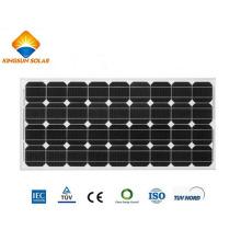 Módulo de panel solar monocristalino de gran potencia 85W-100W