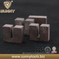 Segment unique de forme d'U de diamant de conception pour la pierre de coupe
