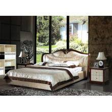 Luxury Bedroom, Leather Bed (8082)