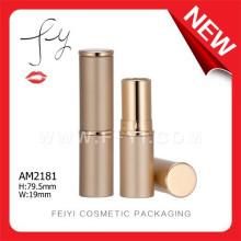 Golden Luxury Custom Hot Sale Aluminium Lipstick Packaging
