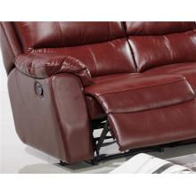 Canapé salon avec canapé moderne en cuir véritable (455)