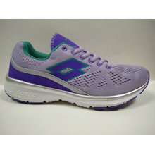 Cute Purple Fly Knit Comfortable Running Shoes for Women