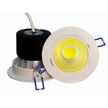 2016 nuevo diseño LED Downlight con carcasa blanca
