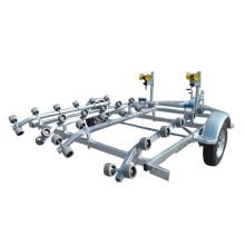 Remolque deportivo galvanizado doble remolque PWC