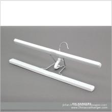 En bois blanc pinces pantalon jupe bas Hanger Hair Extension Hanger
