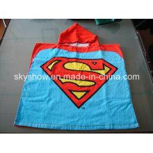 Customed niños toalla con capucha de algodón (SS0355)