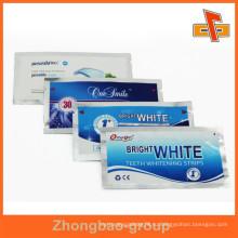 Пользовательский пакет из алюминиевой фольги с пропиткой для белых полос с надписью на разрыв