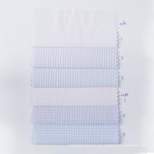 STOCK Check Tejido de poliéster Antiarrugas Camisa Textil