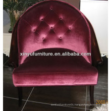Round wooden arm chair for hotel furniture XY2496
