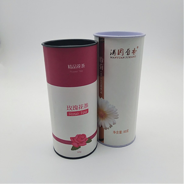 Tea Tube Box