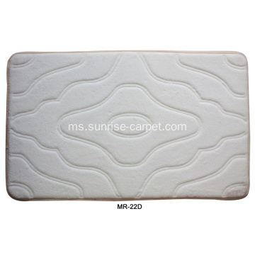Bathmat Flannel Carpet Bathmat