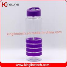 700ml hochwertiges Plastikstroh Getränkflasche (KL-7146)