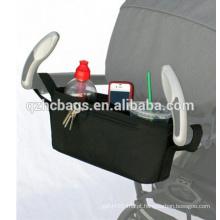 Carrinho de bebê de alta qualidade fralda organizador de carrinho de armazenamento para a mamãe