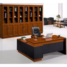 Начальник офиса использовать деревянные офисный компьютерный стол офис компьютерный стол