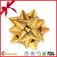 2.5′′ Wrapping Series Double-Faced Gift Star Ribbon Bow for Decoration