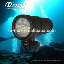 Hochwertige 300W UV Beleuchtung 110 Grad breite Strahl Beleuchtung Tauchen Taschenlampe 10000 Lumen
