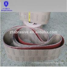 Zirconia alumina belts Flexible abrasive cloth kx167 abrasive belt type sanding belt