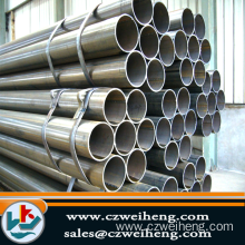 Erw Steel Pipe/schedule 40 black hollow