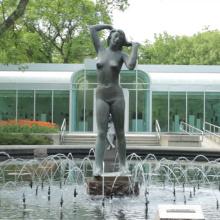 Qualitätsfrauen Bronzeskulptur nackte weibliche Bronzeskulptur