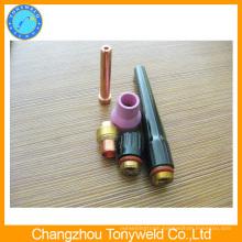 Tig welding consumables collet bodywp-12 tig torch back cap