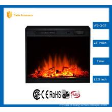 """23 """"clássico inserir lareira elétrica grande sala de aquecedor 110-120V / 60Hz"""