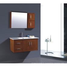 Vanité de salle de bains en PVC 1000mm (B-257)