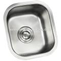 Undermounted/Flushmounted нержавеющей стали sus 304 18/8 Датчик раковина или небольшой бар раковина