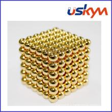 Ballons magnétiques en or Buckyballs (T-011)