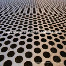 Hoja de Metal Perforada Punzonada CN-Anping de Acero Bajo Carbono