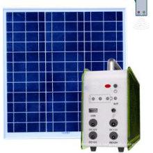 10W Home Solar Panel Kit Sistema de iluminación solar