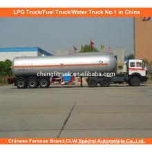 60000L LPG Truck Trailer 60cbm LPG Tanker Trailer