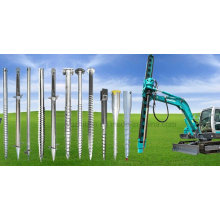 Chinese Manufacturer of HDG Ground Screw for Solar Mounting System