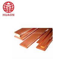 Para barra de cobre plana de aplicação elétrica