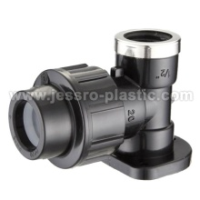 PP COMPRESSION ELBOW WALL PLATE